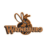 Small Magnet-Waynesburg Primary Logo, 6 inches wide
