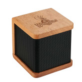 Seneca Bluetooth Wooden Speaker-Waynesburg Primary Logo Engraved
