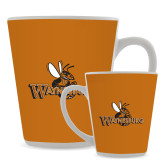 Full Color Latte Mug 12oz-Waynesburg Primary Logo