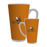 Full Color Latte Mug 17oz-Waynesburg Primary Logo