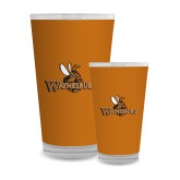 Full Color Glass 17oz-Waynesburg Primary Logo