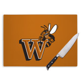 Cutting Board-Mascot W Logo