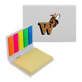 Micro Sticky Book-Mascot W Logo