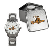 Mens Stainless Steel Fashion Watch-Waynesburg Primary Logo