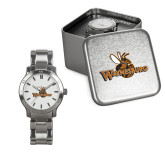 Ladies Stainless Steel Fashion Watch-Waynesburg Primary Logo