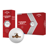 Callaway Chrome Soft Golf Balls 12/pkg-Waynesburg Primary Logo