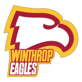 Large Decal-Winthrop Eagles w/ Eagle Head, 12in Tall