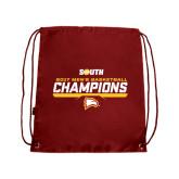 Cardinal Drawstring Backpack-2017 Mens Basketball Champions Repeating