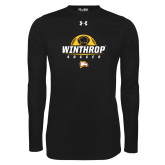 Under Armour Black Long Sleeve Tech Tee-Soccer Half Ball