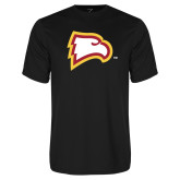 Performance Black Tee-Eagle Head