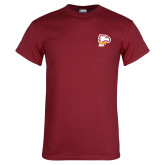 Cardinal T Shirt-Winthrop Eagles w/ Eagle Head