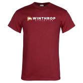 Cardinal T Shirt-Winthrop Athletics Flat