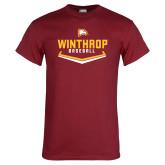 Cardinal T Shirt-Baseball Plate