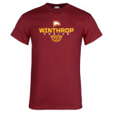 Cardinal T Shirt-Sharp Net Basketball