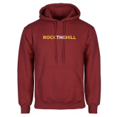 Cardinal Fleece Hoodie-Rock The Hill