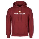 Cardinal Fleece Hoodie-Winthrop Athletics