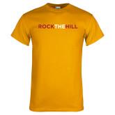 Gold T Shirt-Rock The Hill