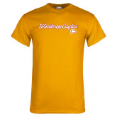 Gold T Shirt-Scripted
