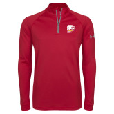 Under Armour Cardinal Tech 1/4 Zip Performance Shirt-Winthrop Eagles w/ Eagle Head