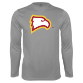 Performance Steel Longsleeve Shirt-Eagle Head
