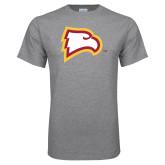Grey T Shirt-Eagle Head