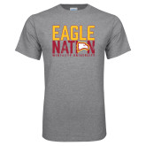 Grey T Shirt-Eagle Nation
