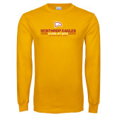 Gold Long Sleeve T Shirt-Class of… Personalized Year