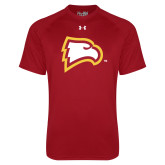 Under Armour Cardinal Tech Tee-Eagle Head