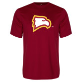 Performance Cardinal Tee-Eagle Head
