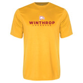 Performance Gold Tee-Lacrosse