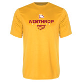 Performance Gold Tee-Sharp Net Basketball