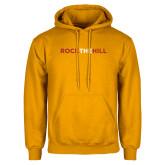 Gold Fleece Hoodie-Rock The Hill