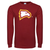 Cardinal Long Sleeve T Shirt-Eagle Head