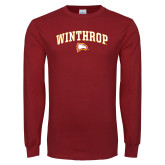 Cardinal Long Sleeve T Shirt-Arched