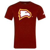 Adidas Cardinal Logo T Shirt-Eagle Head
