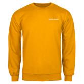Gold Fleece Crew-Primary Mark Flat