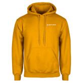 Gold Fleece Hoodie-Primary Mark Flat
