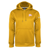 Under Armour Gold Performance Sweats Team Hoodie-Eagle Head