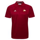 Adidas Climalite Cardinal Jacquard Select Polo-Eagle Head