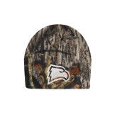 Mossy Oak Camo Fleece Beanie-Eagle Head