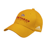 Adidas Gold Structured Adjustable Hat-Winthrop Athletics