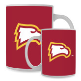 Full Color White Mug 15oz-Eagle Head