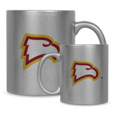 Full Color Silver Metallic Mug 11oz-Eagle Head