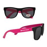 Black/Hot Pink Sunglasses-Primary Mark Flat