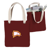 Allie Cardinal Canvas Tote-Eagle Head