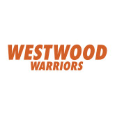 Medium Decal-Westwood Warriors, 8 inches wide