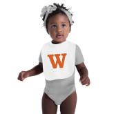 White Baby Bib-W