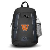 Impulse Black Backpack-W