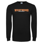 Black Long Sleeve T Shirt-Westwood Stretched