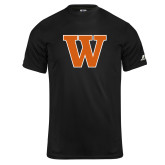 Russell Core Performance Black Tee-W
